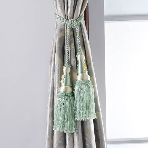 CH-00037 Curtain tassel tiebacks