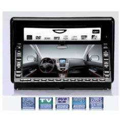 6.5 Double Din LCD Monitor /DVD Player /Adjustable Panel /Touch Screen