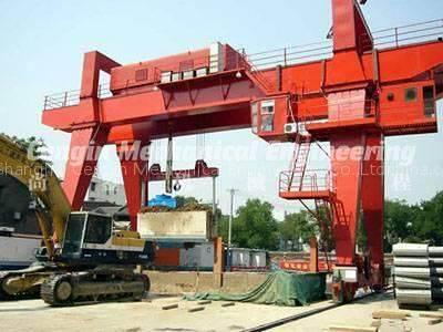 Gantry Crane Lifting Operation for Vertical Shaft Field