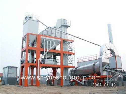 Asphalt Mixing Plant With The Capacity of 96t/H (LBJ1200)
