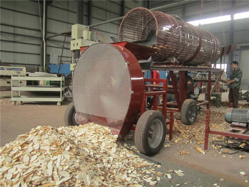 Producing and exporting cassava chipper machine