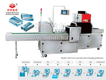 Full Automatic Carton Packaging Machine