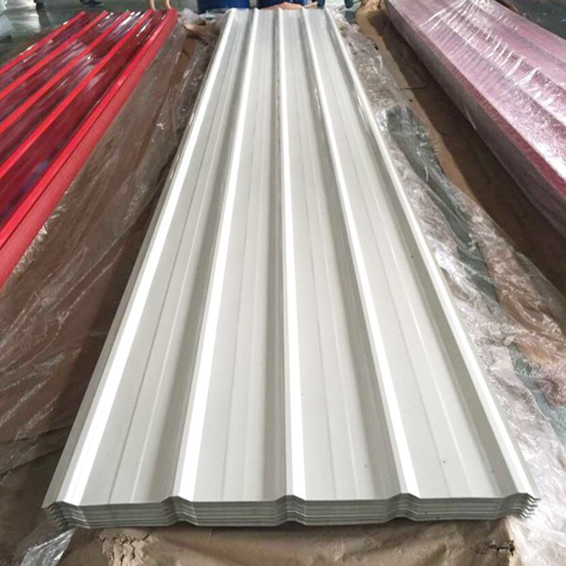 High Glossy Ral Color Prepainted Trapezoidal Metal Roofing Sheet