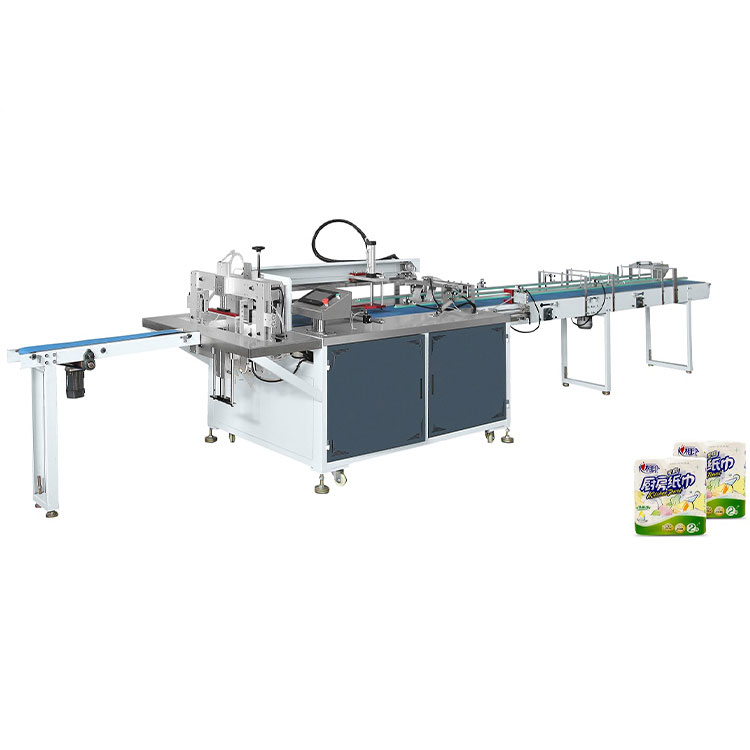 Toilet paper roll bag wrapping machine Single Rolls Packaging Machine Manufacturer