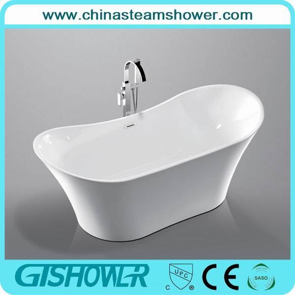 Stand Bowl Shape Acrylic Bathtub (KF-722)