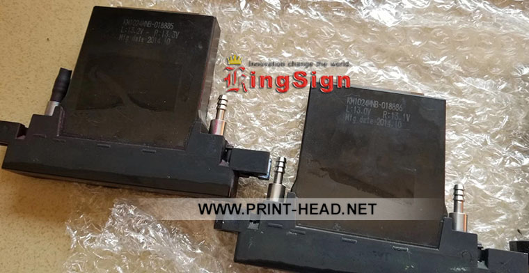 Used KM1024MNB-14PL Printhead