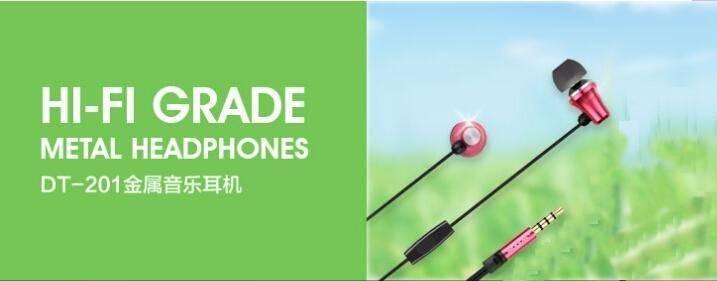 Original Stereo Bass earphone Headphones fone de ouvido Metal handsfree Headset 3.5mm Earbuds For Mo