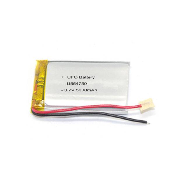 3.7V 5000mAh Lithium Ion Polymer Battery