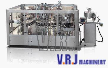 VRJ--HSKL Automatic Bottle Filling and Capping Machine