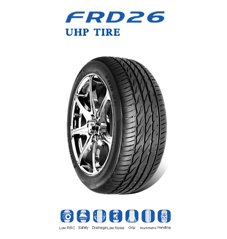 farroad brand UHP tire PCR passenger car tire
