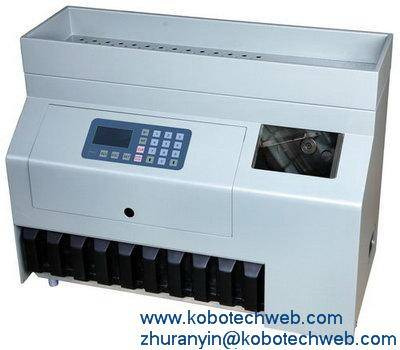 Kobotech YD-900S Heavy Duty Coin Sorter counter counting sorting machine
