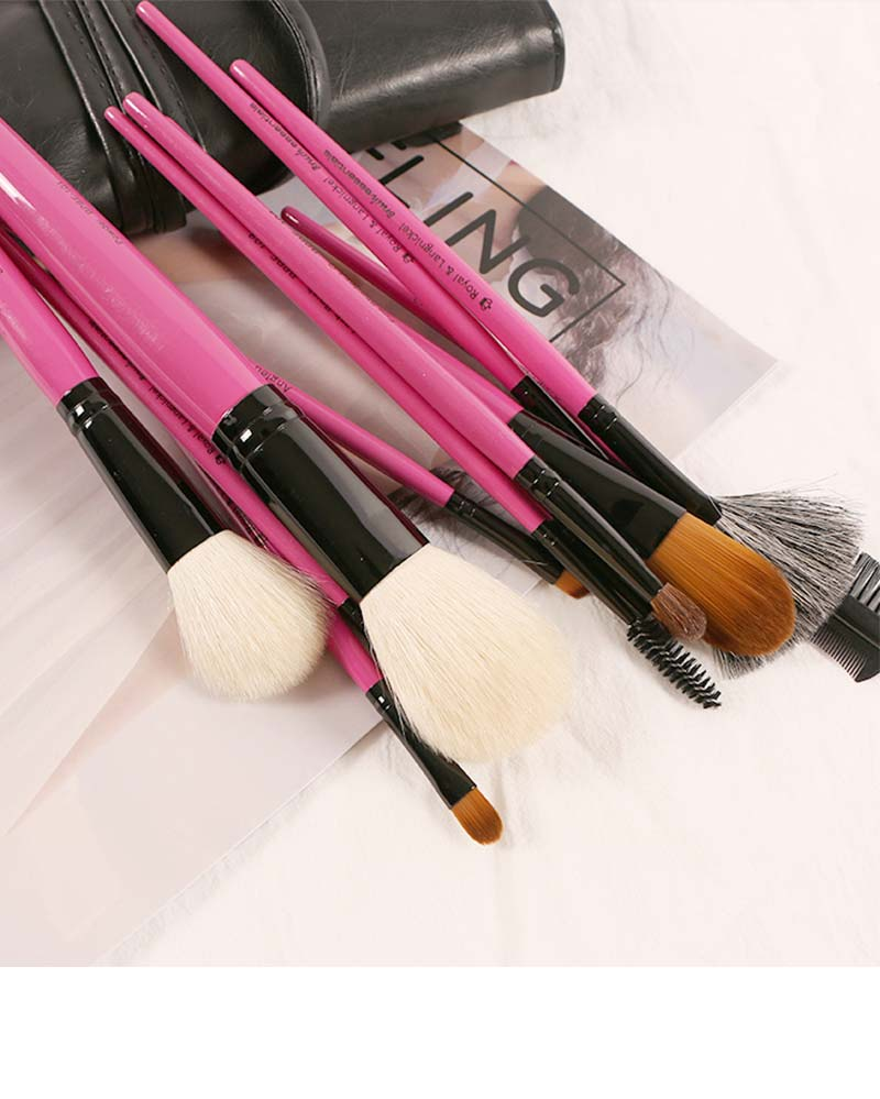 12 Pieces Make Up Brushes Set For Face Blender/Eyeshadow 12 Pieces Makeup Brushes