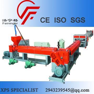 Sell Single Screw XPS Production Line, XPS foam board production line