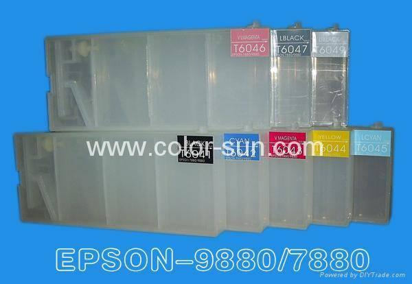 Epson7880/4880/9880/9450refillable cartridge