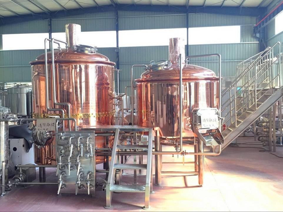 Beer brewery equipment, turnkey craft beer brewing machine