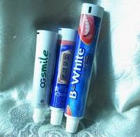 Produce toothpaste tubes