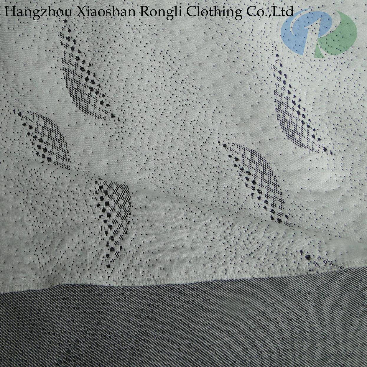 Sell 100% polyester jacquard knitted fabric RLX-M5A