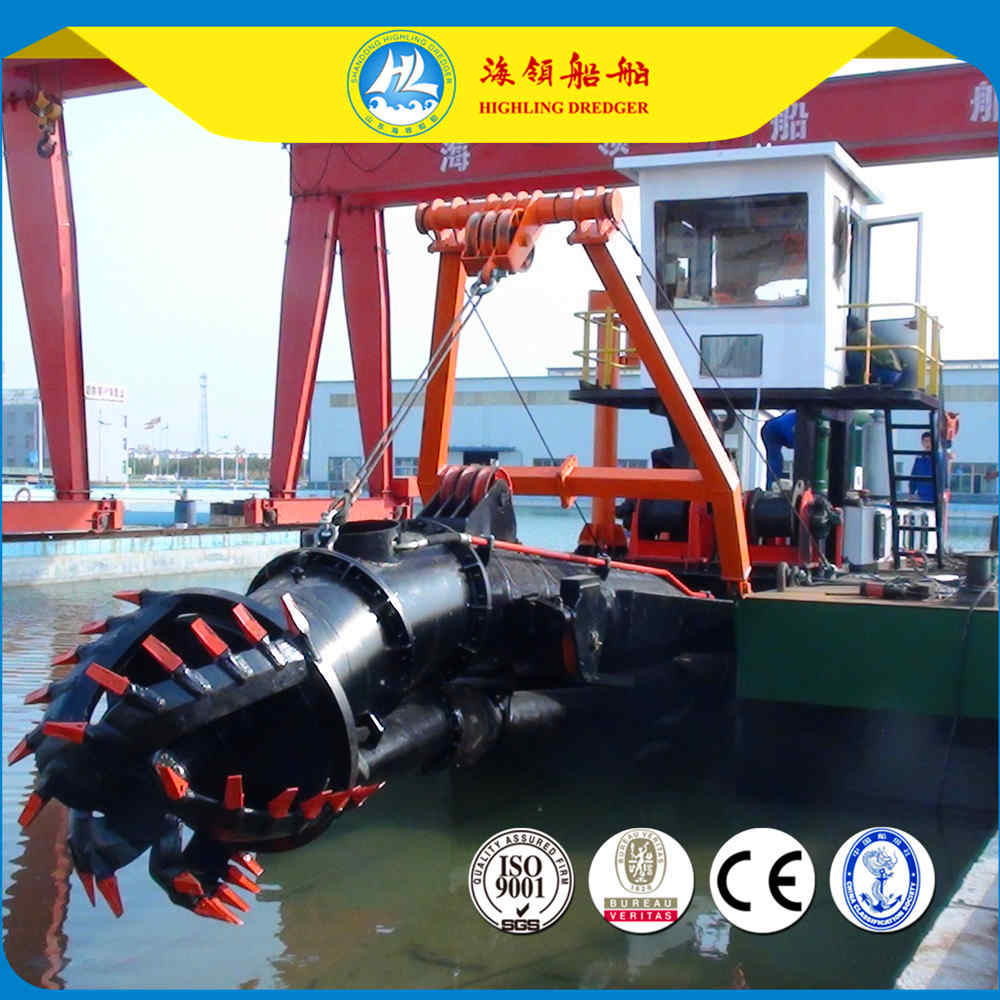 Dredger water flow, 2000m³/h and discharge 350mm