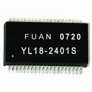 LAN Transformer and 10/100 Base Filter Module