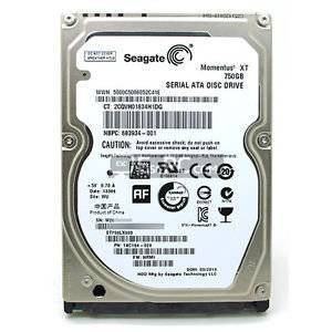 Seagate Momentus XT 750GB SATA 6Gb/S Laptop Solid State Hybrid Hard Drive Disk Internal HDD