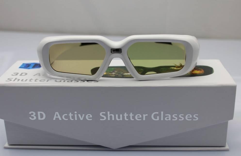 3D Active Shutter Glasses For DLP-Link Projector