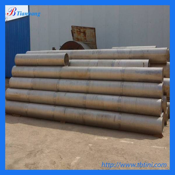 12 sch5s gr2 titanium welded tube for export