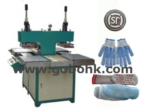 silicone sock label pressing machine
