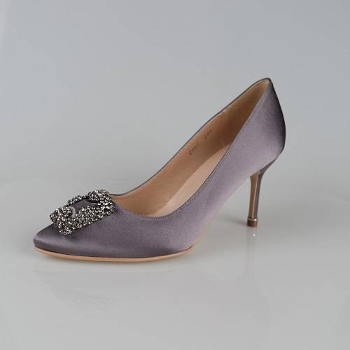 woman evening crystal pumps(0067)