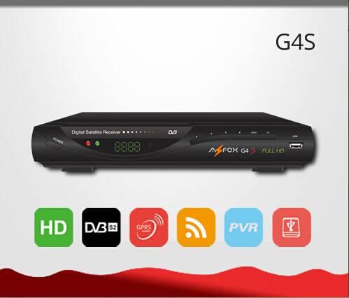 Southeast Asia/ Africa HD DVB-S2 WiFi GPRS G4s Satellite Decoder
