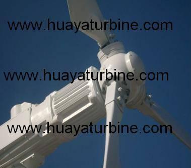 Horizontal axis wind turbine generator 300w-30kw