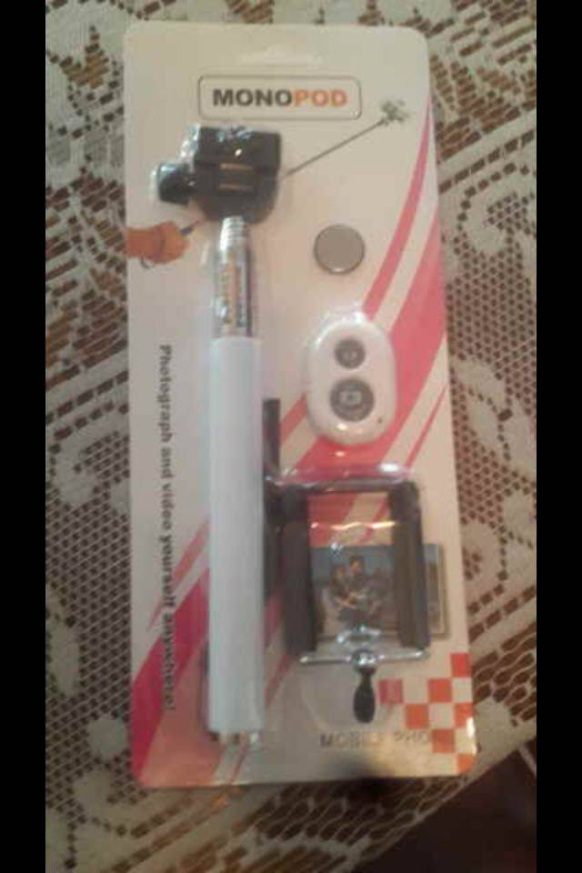 2015 bluetooth selfie stick monopod with remote control