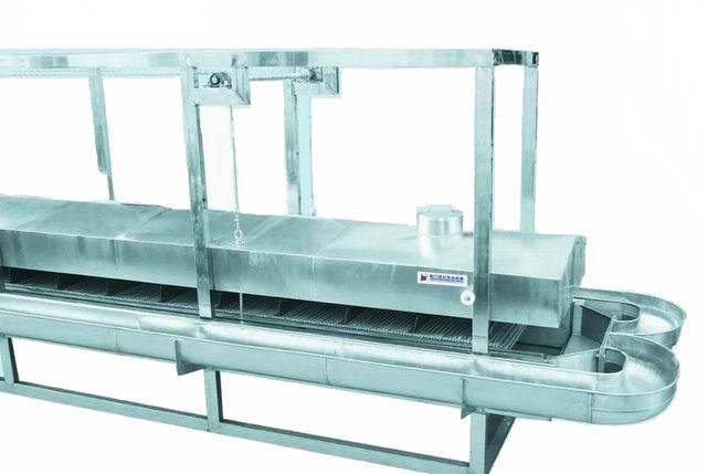 Water cooking trough with cap