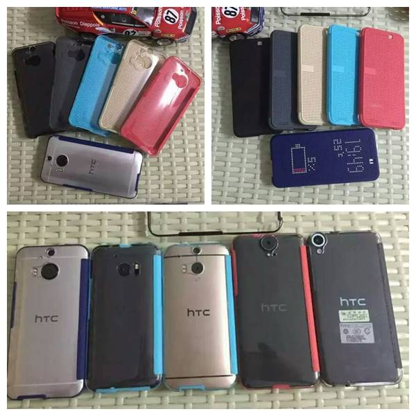 HTC Second Generation Dot View Case, Cell phone Protective Cover Cases, Mobile phone Flip Leather
