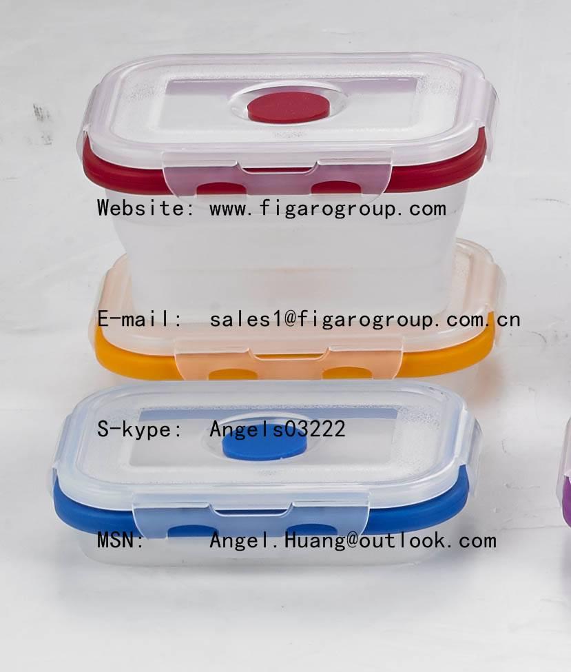 silicone folding box
