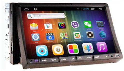 Android 4.2 7 2-Din Universal Car DVD/GPS/Bluetooth + RDS + Remote Control + iPod + USB/SD/Aux-In,S