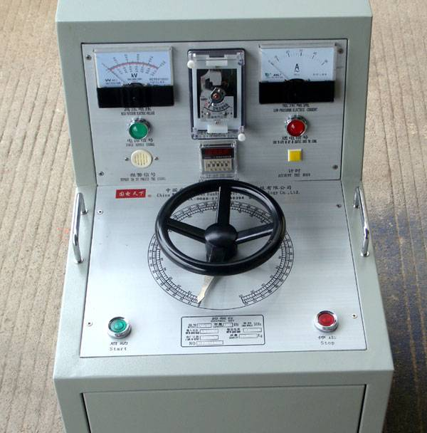 3C certification of the electrical pressure tester