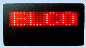 LED Name Tag