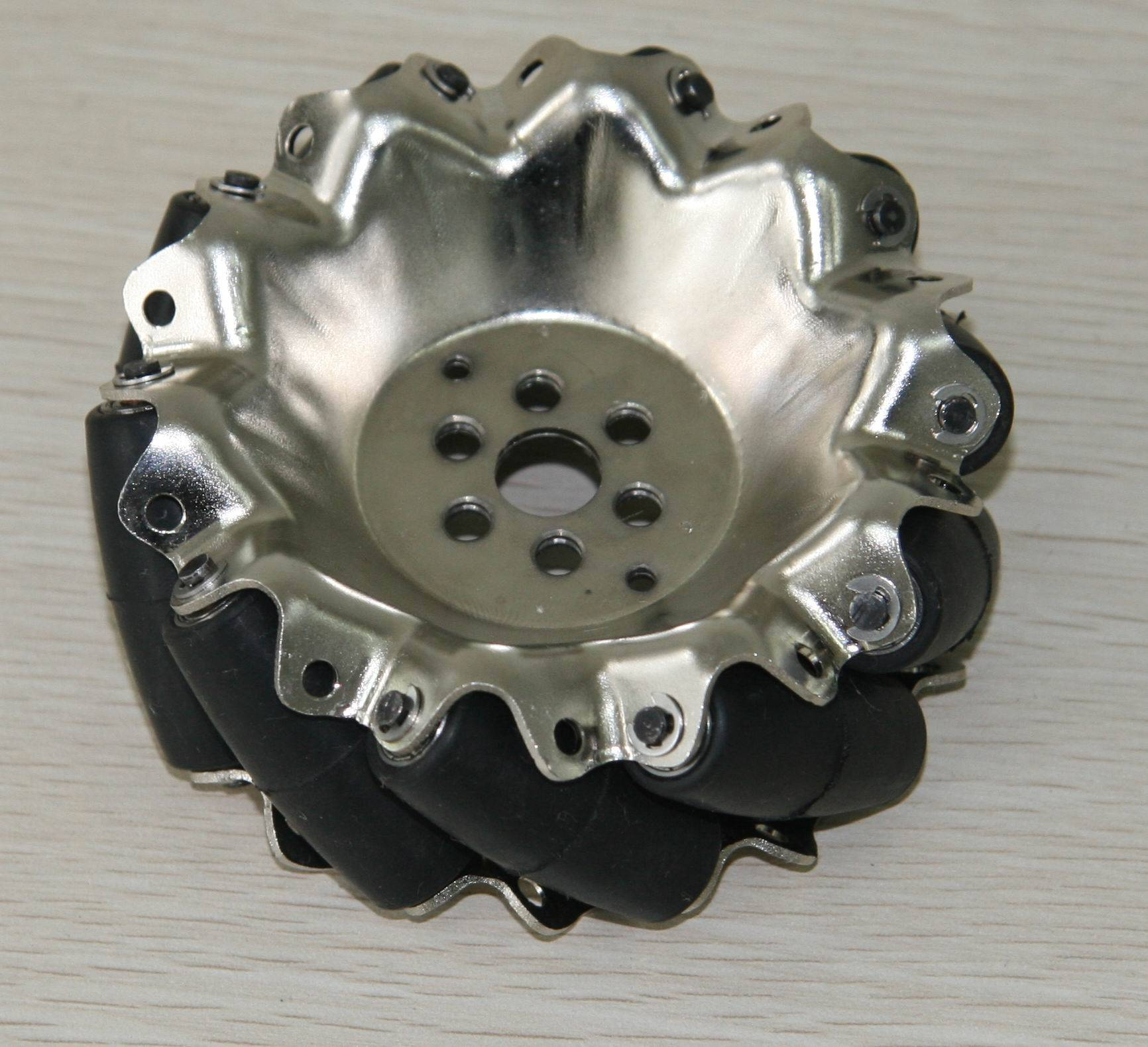 101.6mm steel mecanum wheel QMA-10