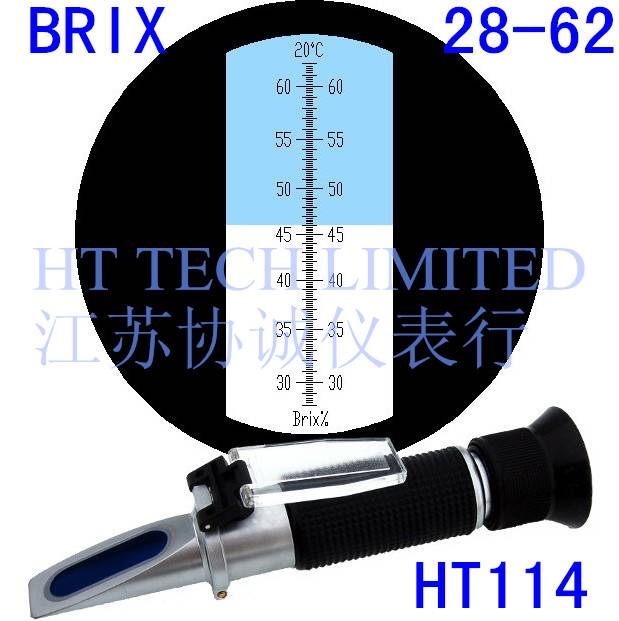 Brix Refractometer 28-62 for fruit concentrates and condensed milk
