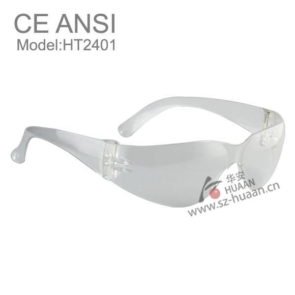 wide side feet safety glasses anti impact clear lens safety glasses goggles