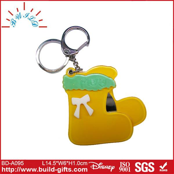 bungee cord key chain shoes shaped acrylic key chain