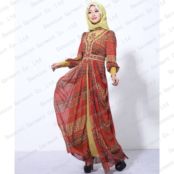 2013 Newest Design Muslim Abaya Clothing for Women MF16891