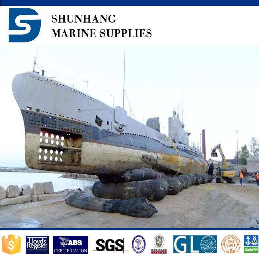 Indonesia use high quality marine airbag for ship launching