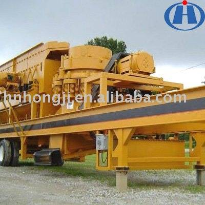 Hongji Mobile Cone Crusher Plant - Great Wall