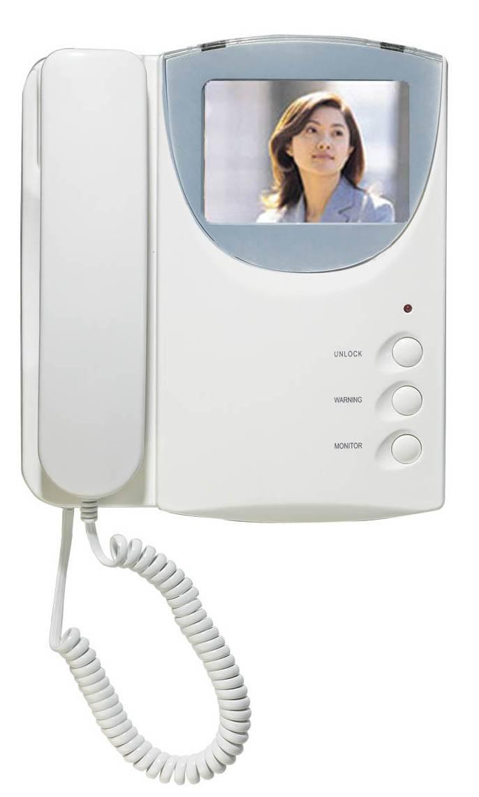 3.5'' color Video Door Phone with Handset