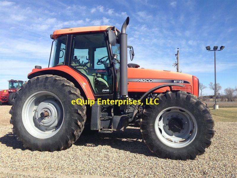 Used 2005 AGCO RT120 For Sale