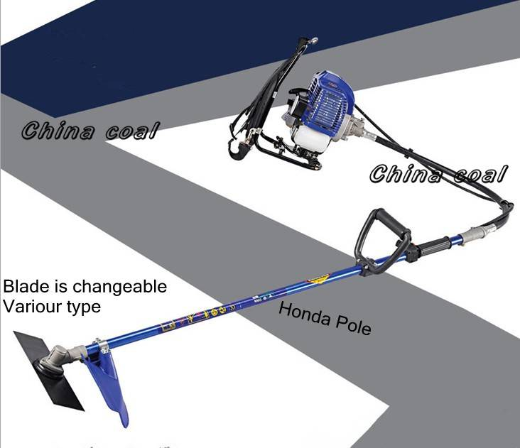 Hot 2-stroke knapsack grass cutter with competitive price