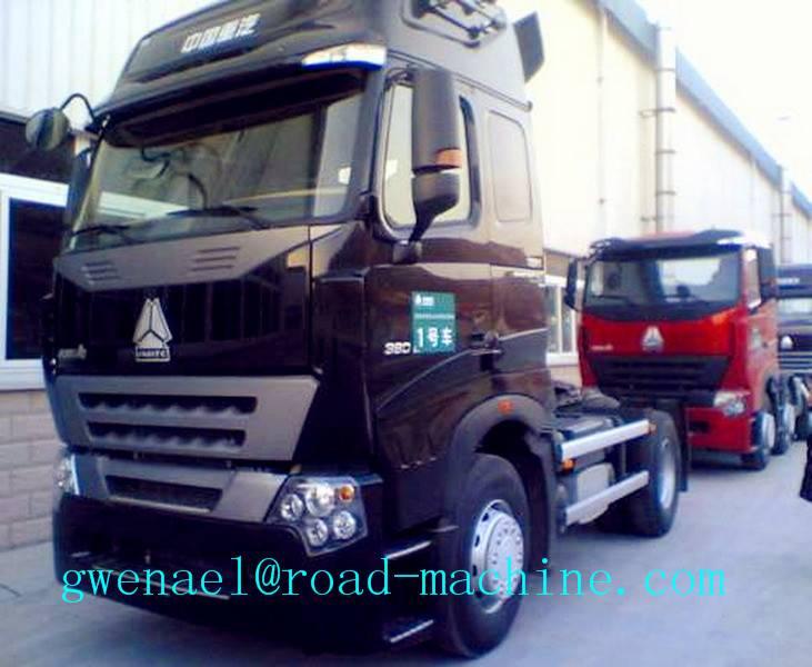 TRACTOR TRUCK SINOTRUK HOWO 290HP 4X2 Euro II Energy-Saving