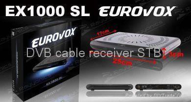 Eurovox EX1000Sl dvb cable receiver stb set top box