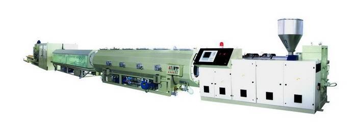 plastic pipe line-PE/PPR/PP pipe machinery